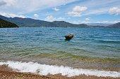 Landscape Of Lugu Lake (China)