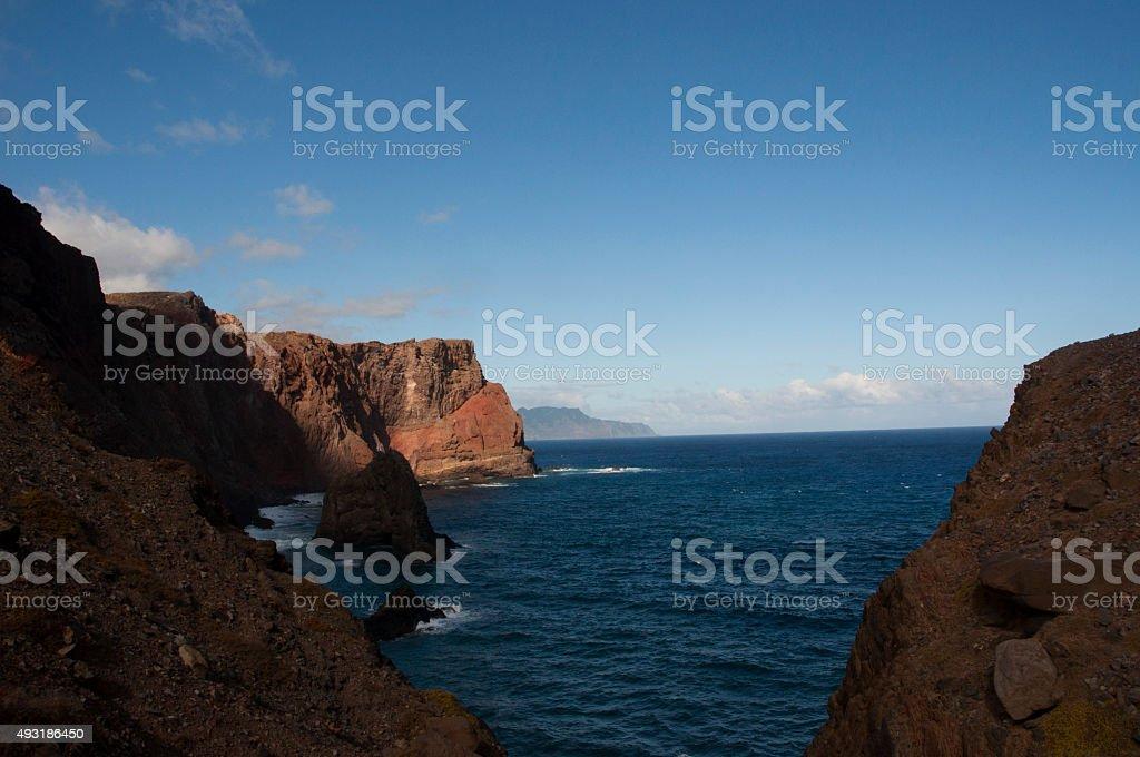 Landscape of Madeira stock photo