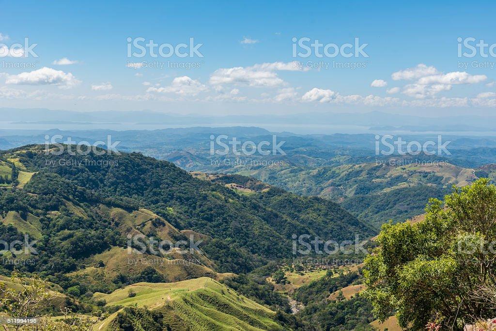 Landscape of Monteverde - Costa Rica stock photo