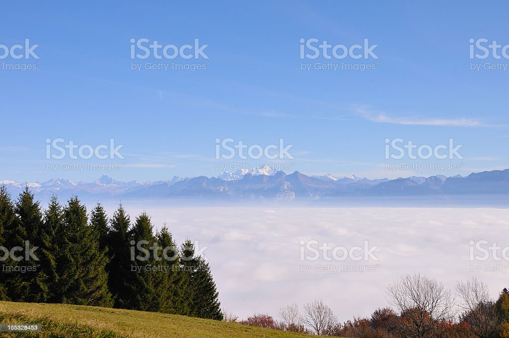 landscape of mountain royalty-free stock photo