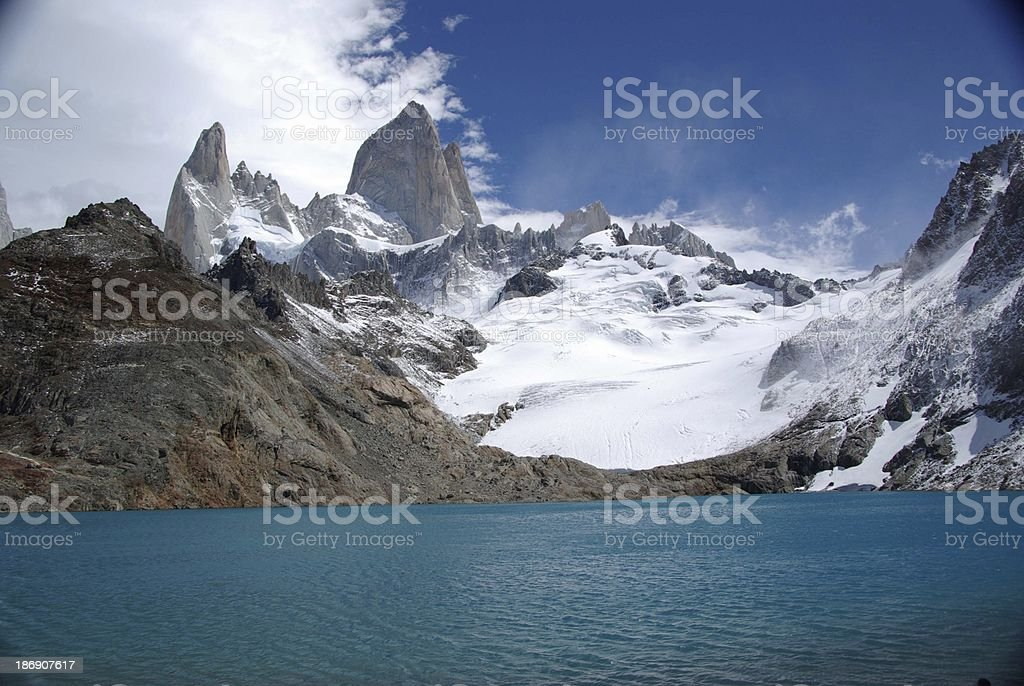 Landscape of Patagonia royalty-free stock photo