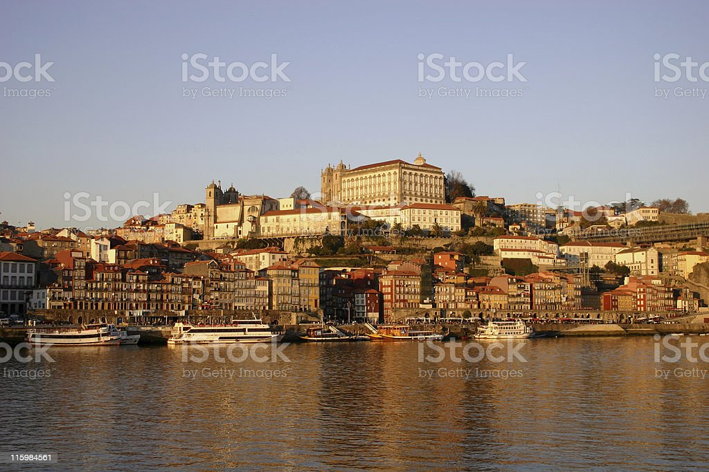 Landscape of Porto royalty-free stock photo
