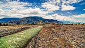 Landscape of Ramu river and valley, Madang Papua New Gunea