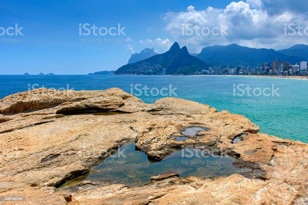 Landscape of Rio de Janeiro stock photo