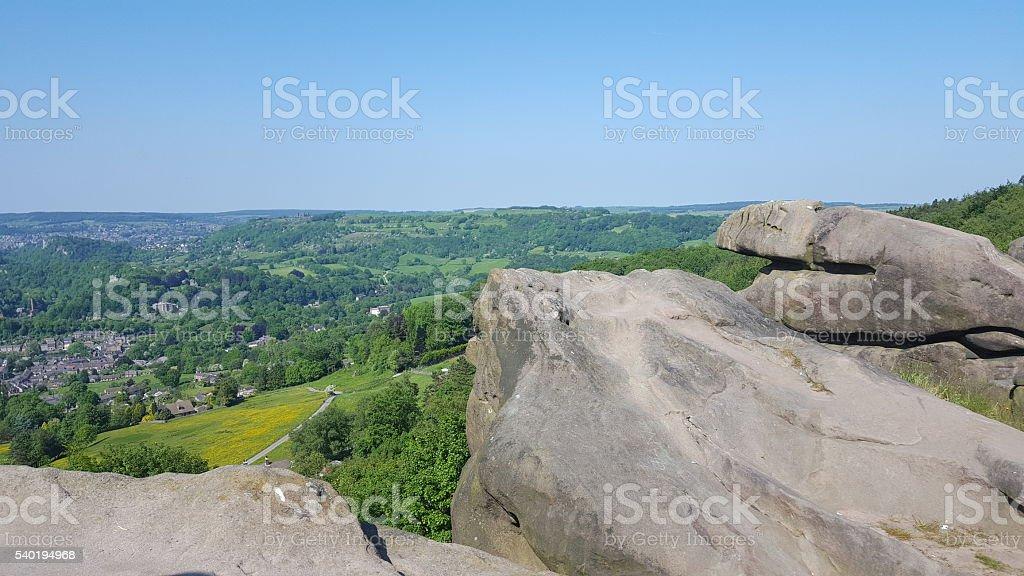 Landscape of Rocks stock photo