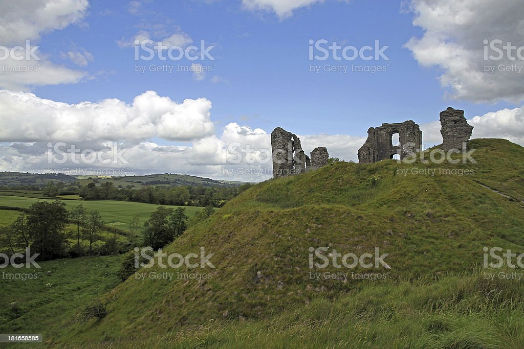 Landscape of Ruins stock photo