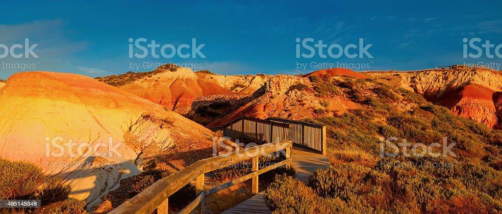 Landscape of South Australia stock photo