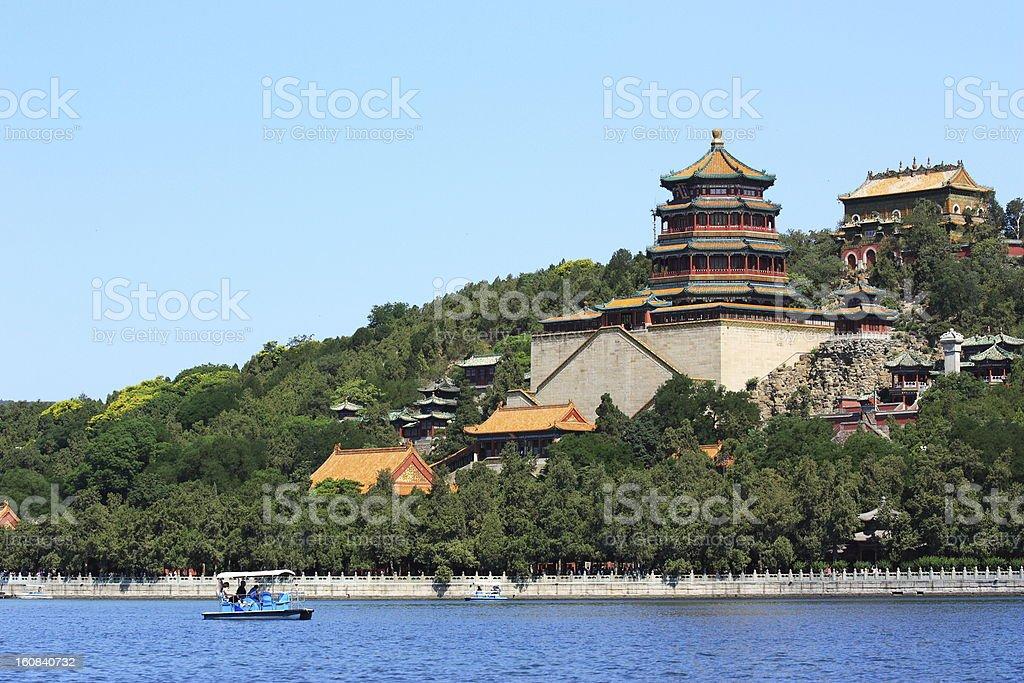 landscape of summer palace royalty-free stock photo
