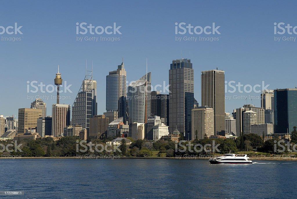 Landscape of Sydney city, Sydney, Australia royalty-free stock photo
