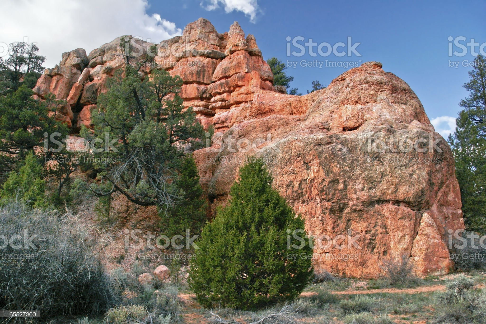 Landscape of Utah state. USA royalty-free stock photo
