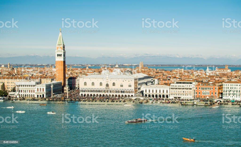Landscape of Venice stock photo