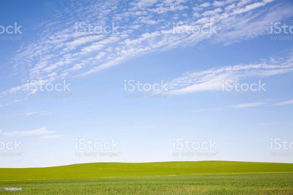 Landscape On Prairie royalty-free stock photo