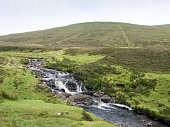 Landscape on Trotternish penisnula, Scotland