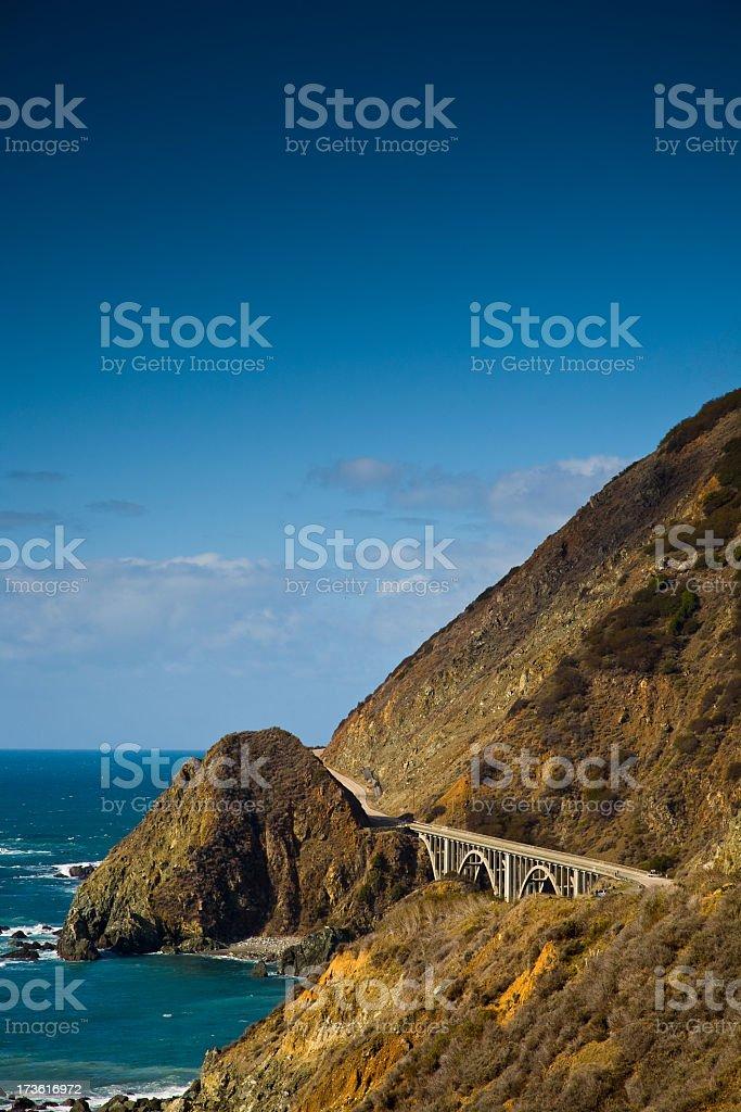 Landscape Pacific Coast stock photo