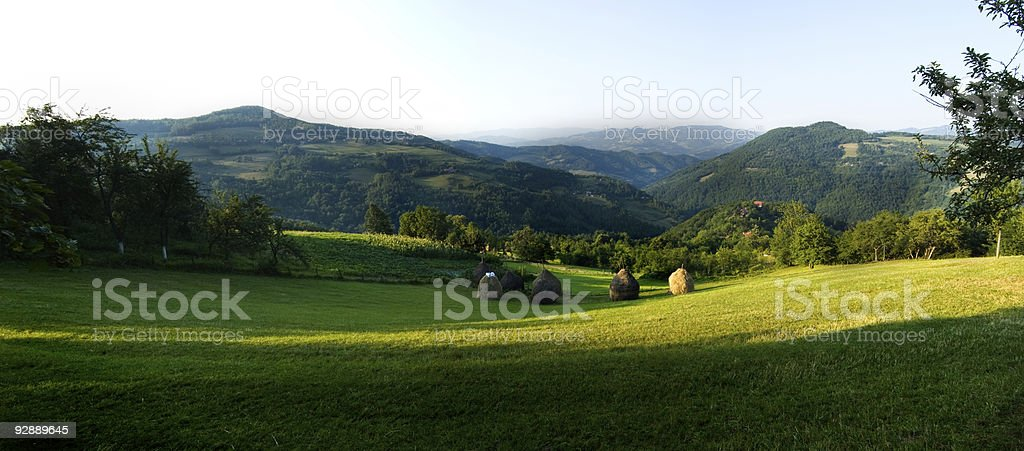 landscape panorama royalty-free stock photo