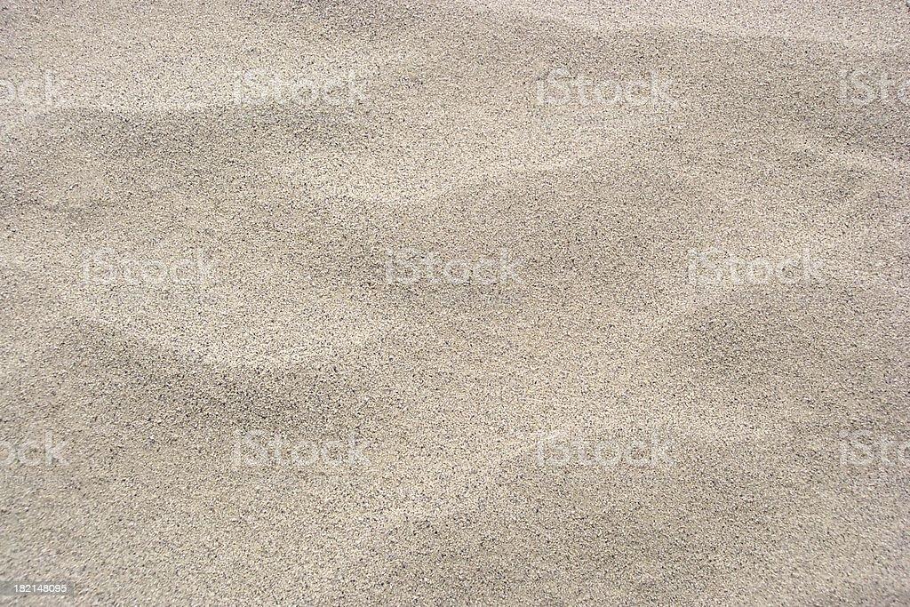 Landscape photograph of hot sand dunes stock photo