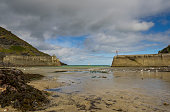 Landscape Photography of Port Isaac beach with no people