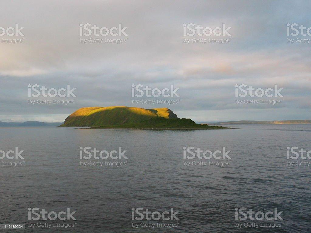 Пейзаж (Остров Стоковые фото Стоковая фотография