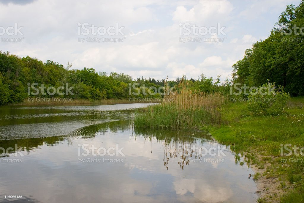 Landschaft Lizenzfreies stock-foto