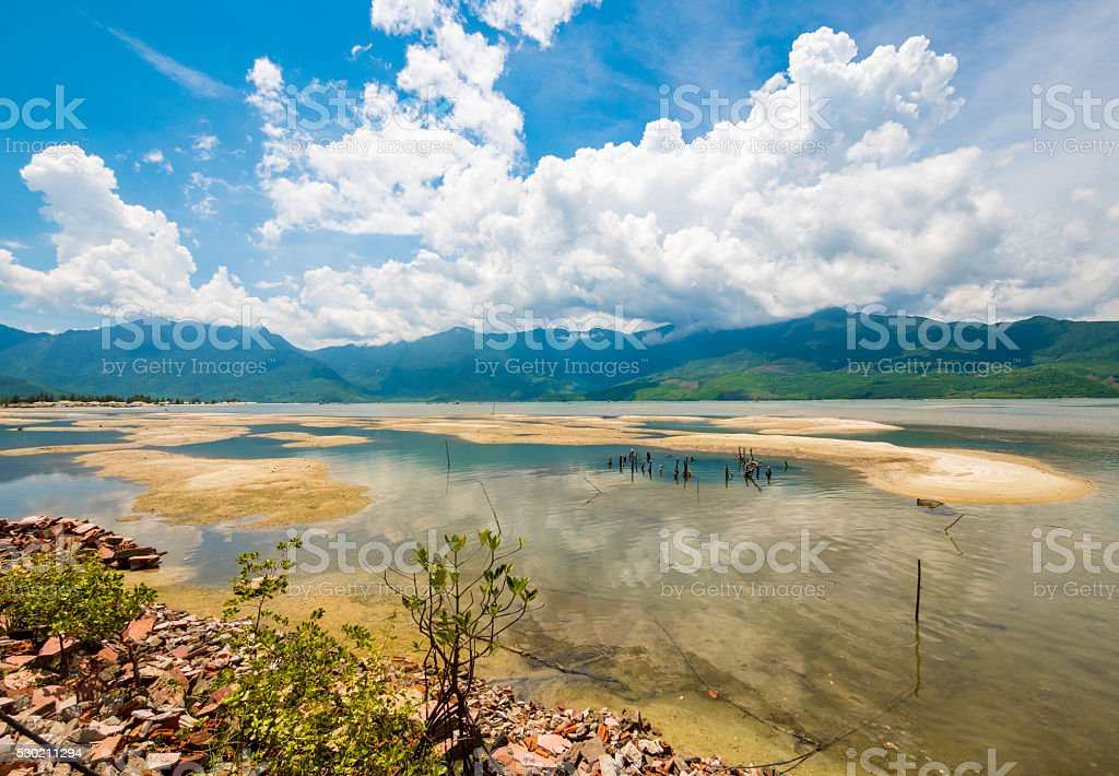 Landscape scenery in Hue, Vietnam stock photo