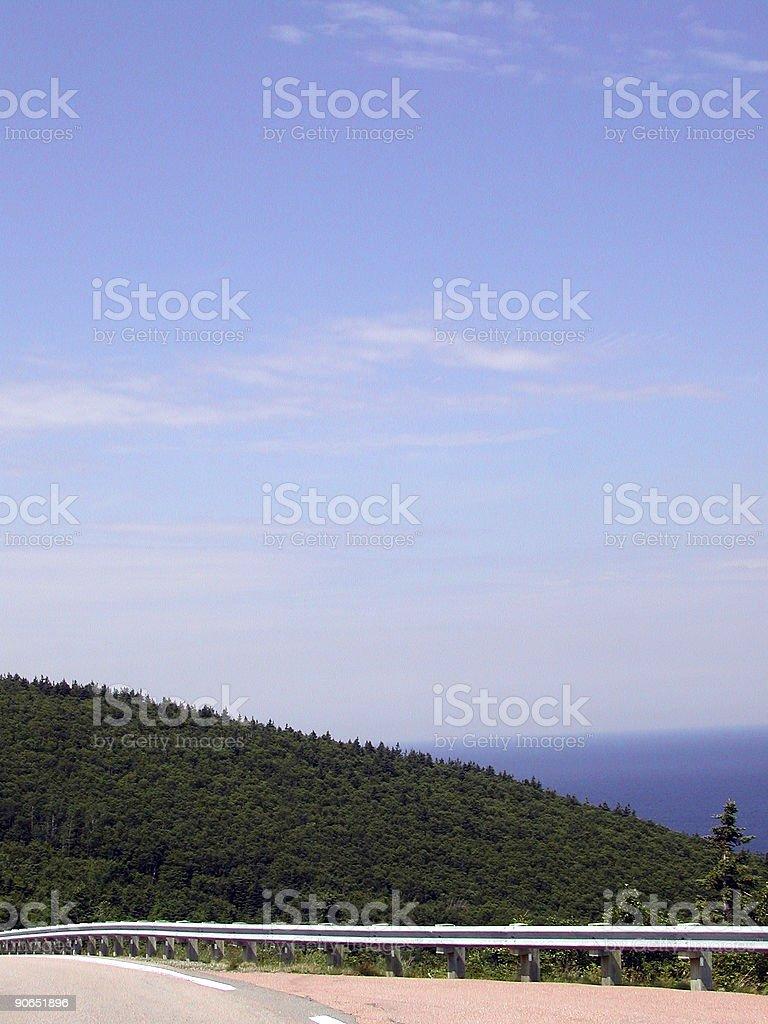Landscape - Scenic Drive royalty-free stock photo