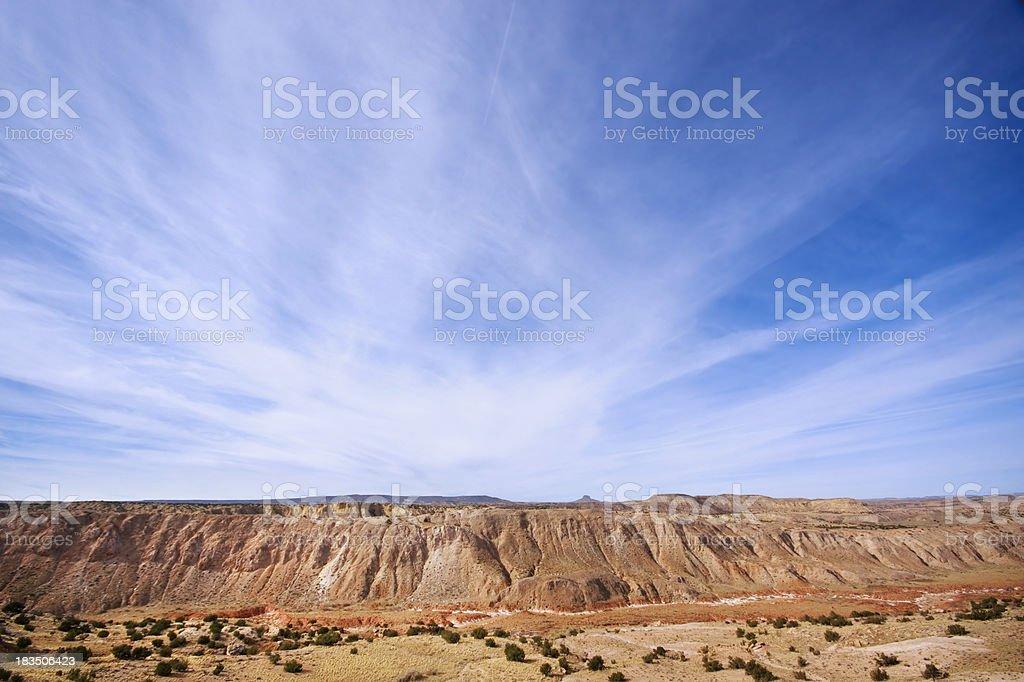 landscape southwest sky royalty-free stock photo