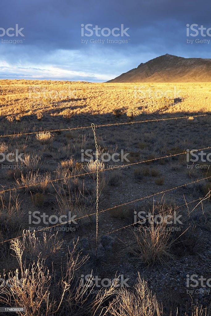landscape sunset royalty-free stock photo