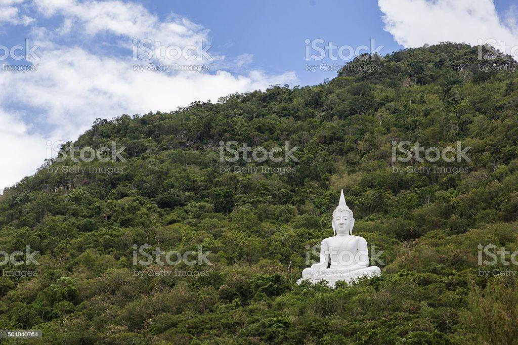 Landscape temple stock photo