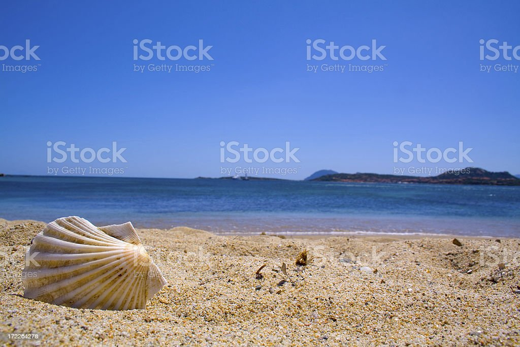Landscape the Italian islands royalty-free stock photo