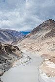 Landscape view at Leh Ladakh, India