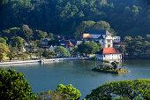 Landscape view of Kandy, Sri Lanka
