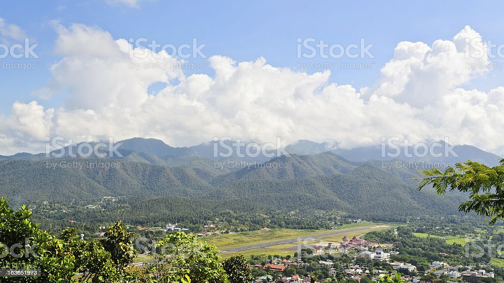 Landscape view of the city royalty-free stock photo