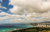 Landscape View of Waikiki from up high