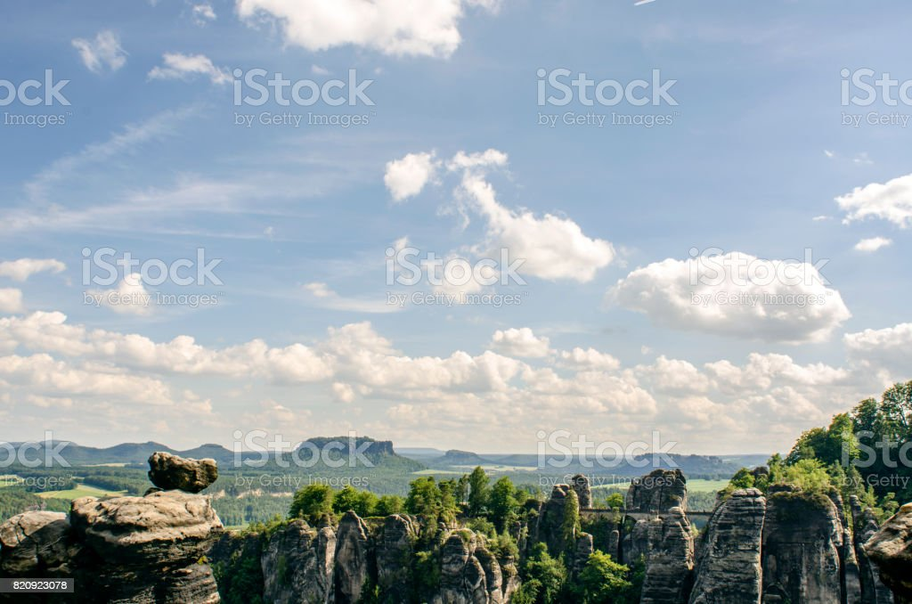 landscape view stock photo