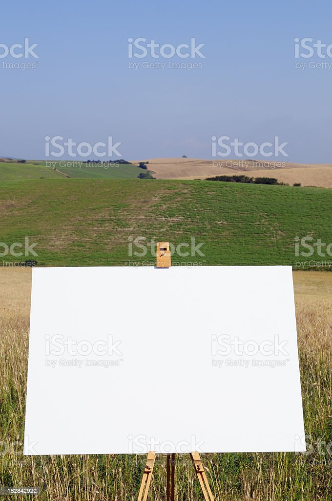 Landscape with copy space royalty-free stock photo