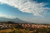Landscape with mountain in El Salvador, Central America