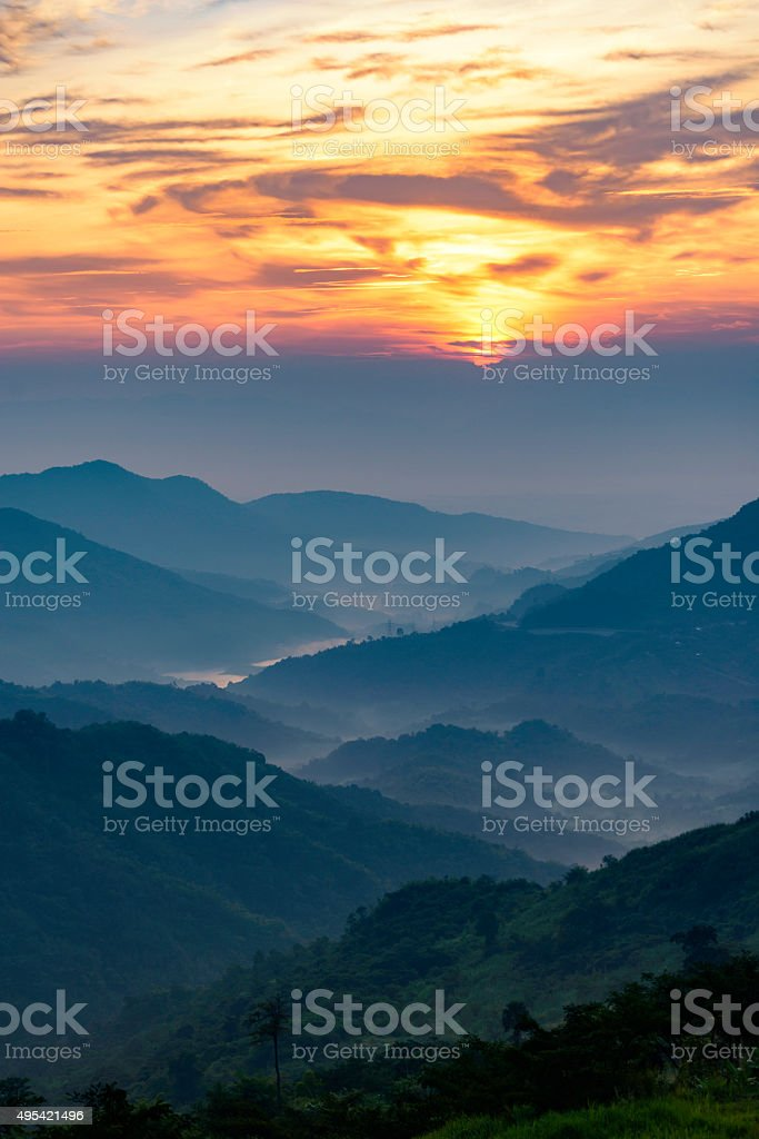 Landscape,Mountain,Thailand royalty-free stock photo