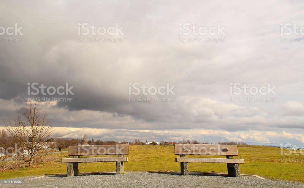 landscapes of Stevestone stock photo