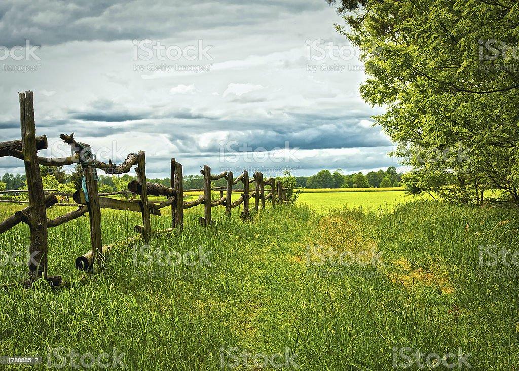 Landschaft HDR stock photo