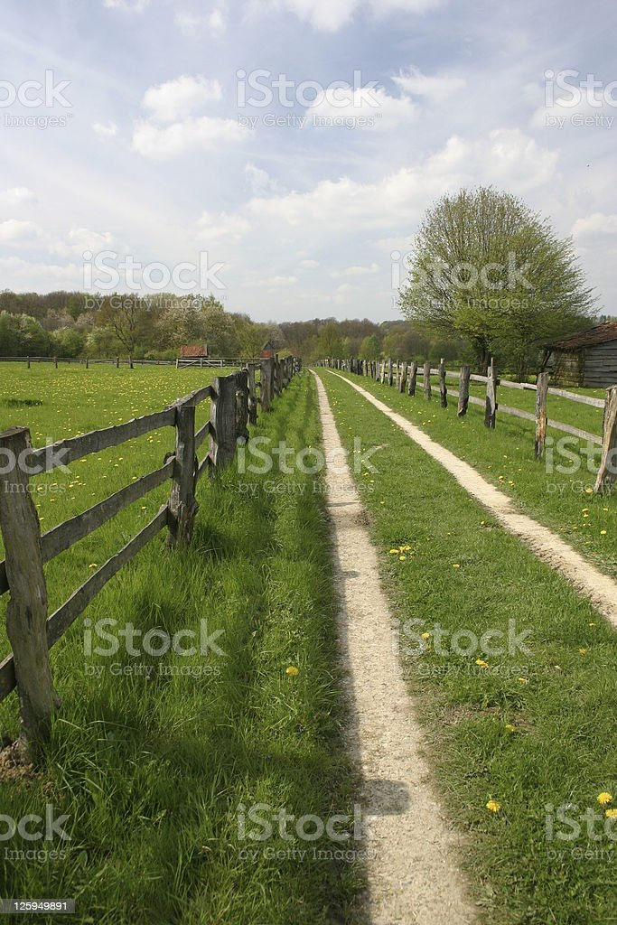 Lane stock photo