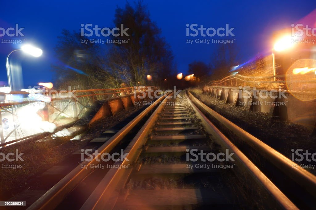 lane train stock photo