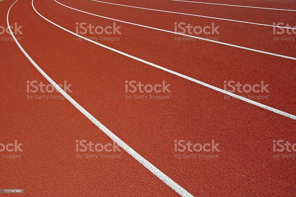 Lanes of Competition royalty-free stock photo