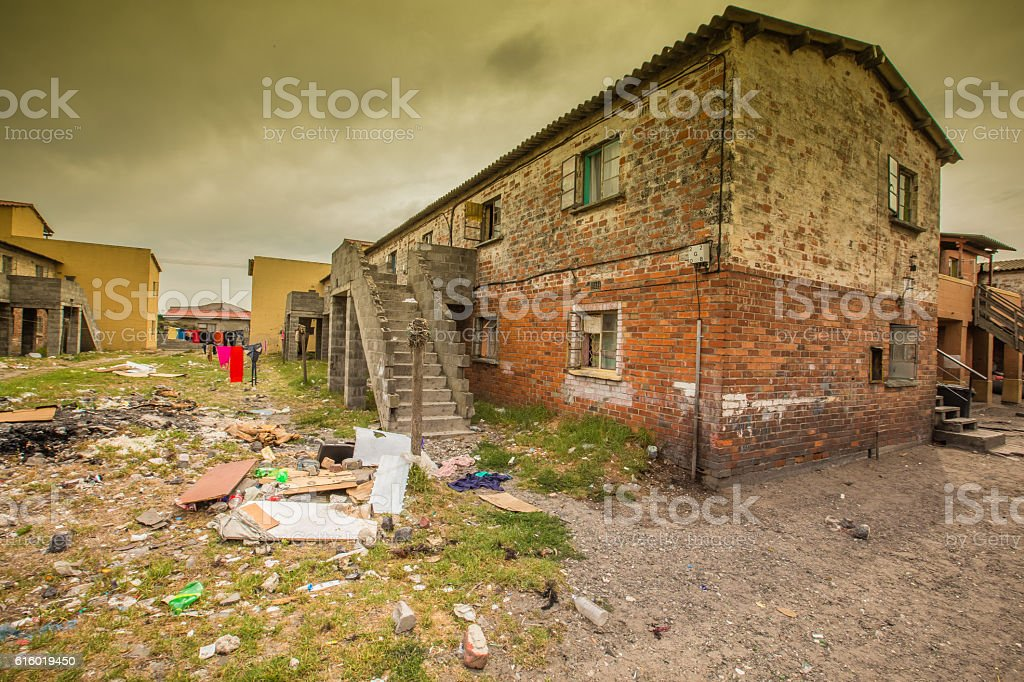 Langa Township Home's stock photo