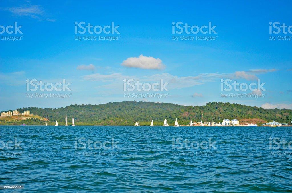 Langkawi island stock photo