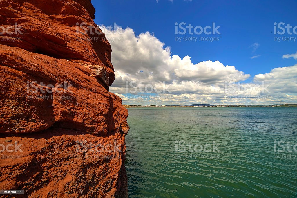 Langston rock stock photo