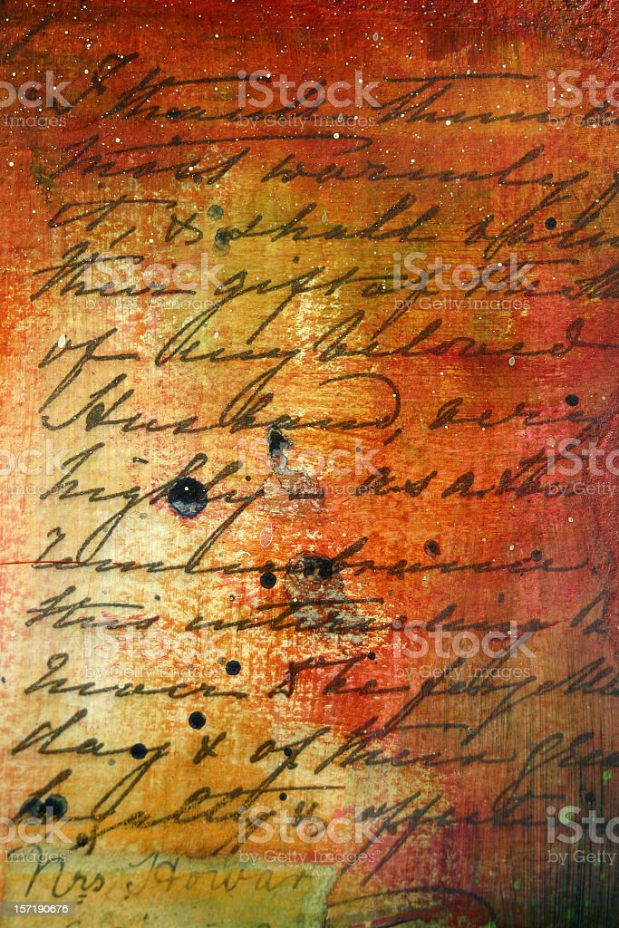 Language Abstract FIVE stock photo