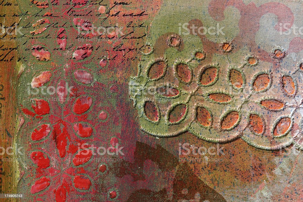 Language Abstract TWO royalty-free stock photo