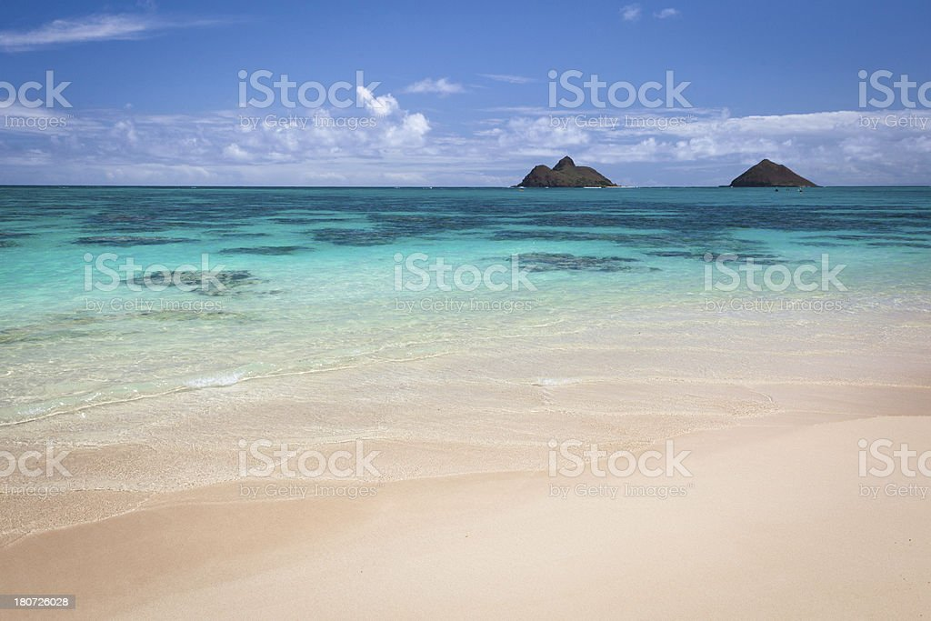 Lanikai Beach, Oahu stock photo