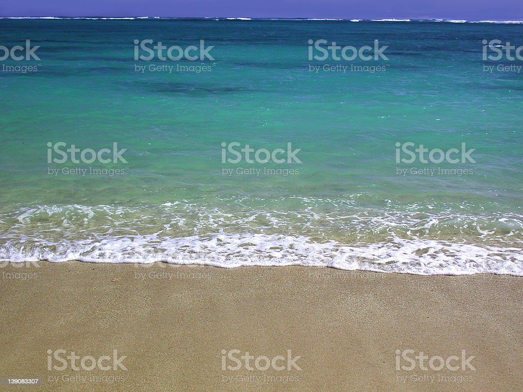 Lanikai Beach royalty-free stock photo