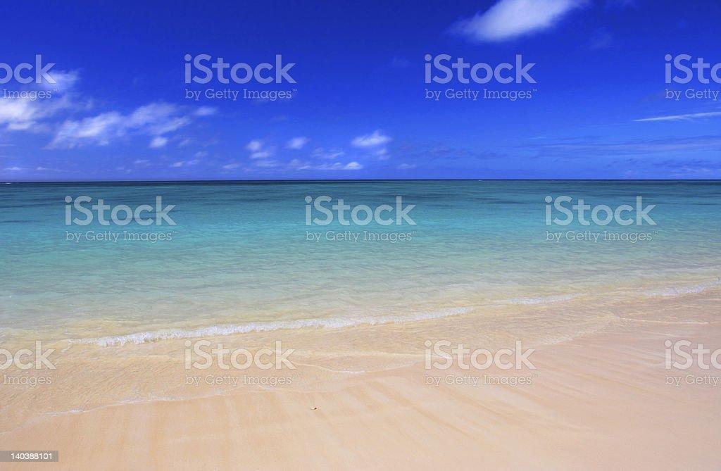 Lanikai Beach royalty-free stock photo